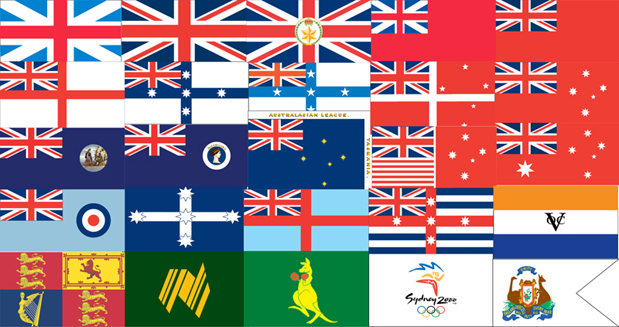 Historical Flags Of Australia