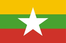 Myanmar new flag 2010