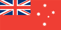 Victorian red ensign